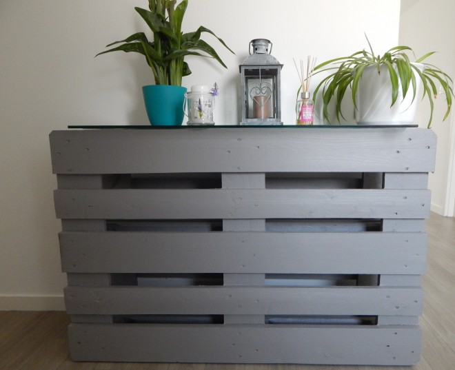 meuble d entr e en palette titli evasion. Black Bedroom Furniture Sets. Home Design Ideas